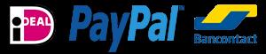 Logo's betaalmethodes